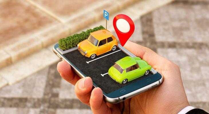 Anwendungen für Parkkarten